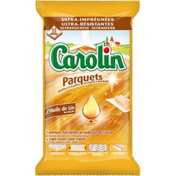 Serpillières à l'huile de lin parquets