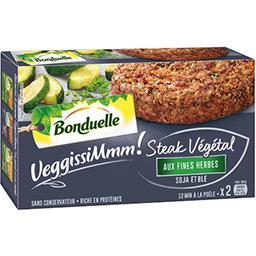 VeggissiMmmm! - Steak végétal aux fines herbes soja ...