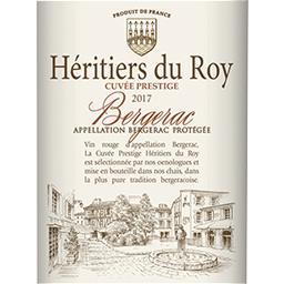 Bergerac Héritiers du Roy vin Rouge 2017