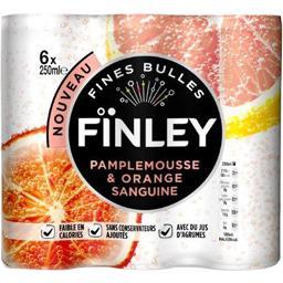 Boisson pétillante pamplemousse & orange sanguine