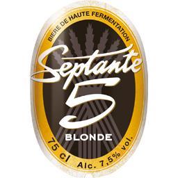 Bière blonde de haute fermentation