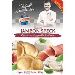 Girasoli jambon Speck ricotta et mozzarella fondante