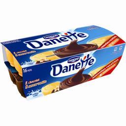Danette - Crème dessert chocolat & saveur vanille