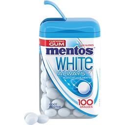 White Always - Chewing gum goût menthe sans sucres