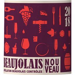 Beaujolais nouveau, vin rouge