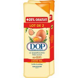 Dop Le Shampooing très doux aux œufs tous types de cheve...