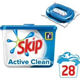 Active Clean - Capsules de lessive Ultimate double action
