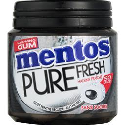 Pure Fresh - Chewing-gum goût menthe réglisse sans s...