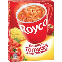 Bouillon de tomates & vermicelles