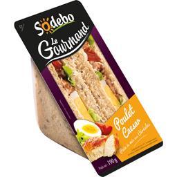 Sandwich Le Gourmand poulet Caesar