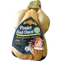 Poulet Sud Ouest PAC Label Rouge