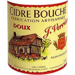 Cidre bouché de Normandie doux
