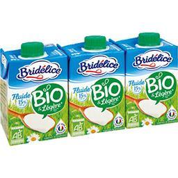 Spécialité laitière fluide 15% MG légère BIO