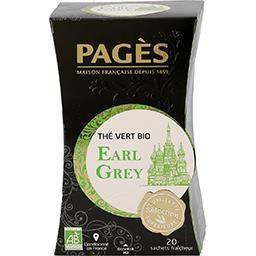 Thé vert BIO Earl Grey