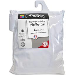 Protège matelas molleton 140x190 cm blanc