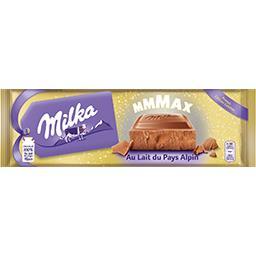 Chocolat au lait du pays alpin