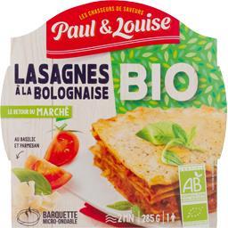 Le Retour du Marché - Lasagnes à la bolognaise BIO