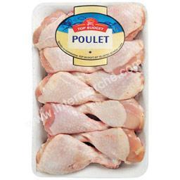 Pilons de poulet blanc