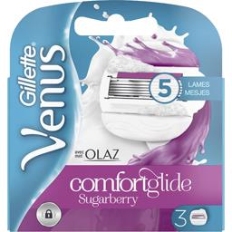 Vénus - Lames de rasoir Comfortglide Olza Sugarberry pour femme