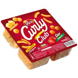 Biscuit apéritif Curly Club