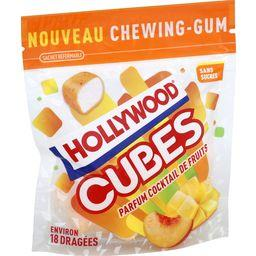 Hollywood Cubes - Chewing-gum cocktail de fruits sans sucres