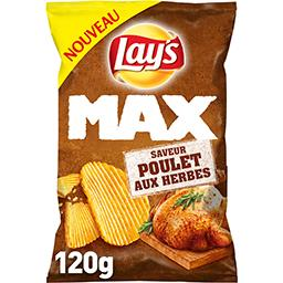 Lay's Max - Chips saveur poulet aux herbes