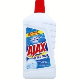 Gel salle de bain anti calcaire et désinfectant