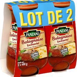 Sauce bolognaise emmental