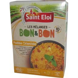 Saint Eloi Les Mélanges poêlée orientale Bon & Bon les 3 sachets de 110 g