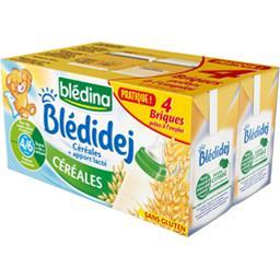 Blédidej - Céréales au lait de suite, dès 6 mois