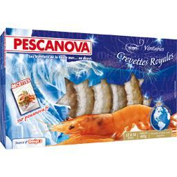 Véritables crevettes royales
