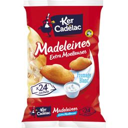 Madeleines extra moelleuses fromage blanc
