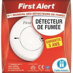 First Alert Détecteur de fumée