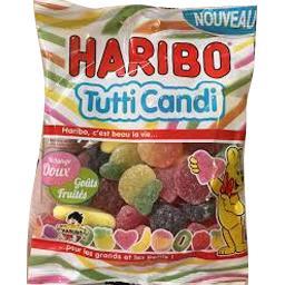 Bonbons Tutti Candi mélange doux & fruité