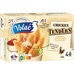 Aiguillettes poulet Tenders panées aux Corn Flakes