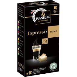 Café capsules Espresso Piano