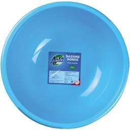 Bassine ronde bleue 10,5 L