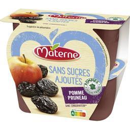 Materne Sans Sucres Ajoutés - Purée pomme pruneau
