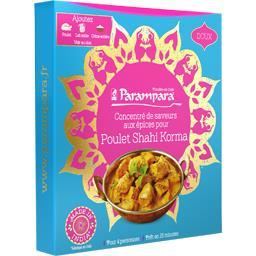 Concentré de saveurs aux épices pour Poulet Shahi Korma