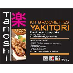 Kit brochettes Yakitori