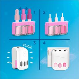 Désodorisant électrique ambi pur 3volution rosée du ...