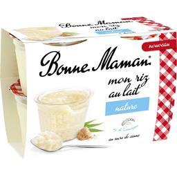 Mon riz au lait nature