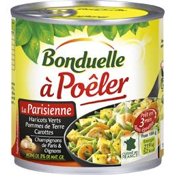 Légumes cuisinés à poêler à la parisienne