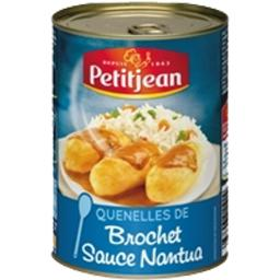 Quenelles de brochet sauce Nantua