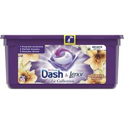 Dash Lessive 3en1 Pods Souffle Précieux