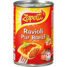 Ravioli pur bœuf