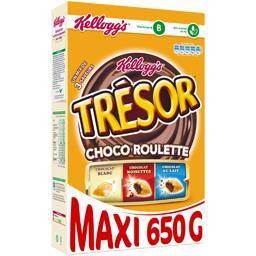 Trésor - Céréales Choco Roulette un mix de 4 saveurs