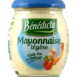 Mayonnaise légère goût fin et délicat