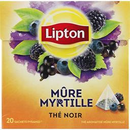 Thé mûre myrtille