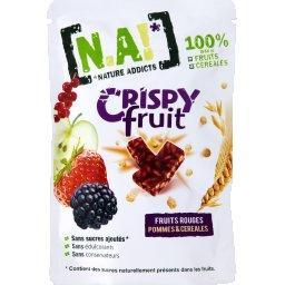 Crispy Fruit pommes, fruits rouges & céréales